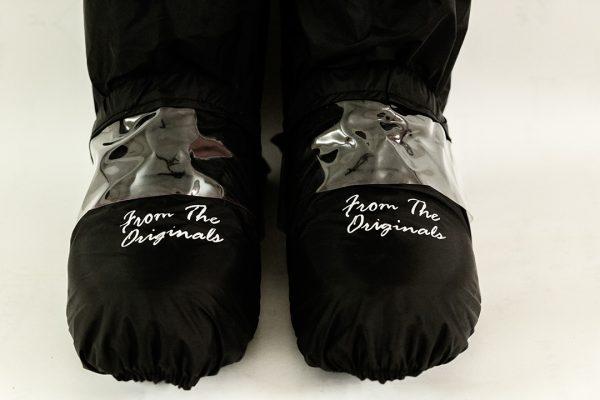 shoerella shoe cover for kids shoes waterproof reusable
